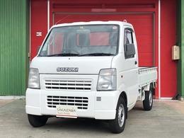 スズキ キャリイ 660 KCパワステ 農繁仕様 3方開 4WD 5速マニュアル・エアコン・走行56000km