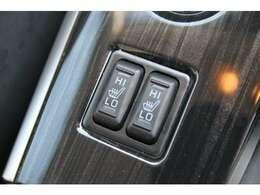 運転席&助手席はシートヒーターを装備しております♪寒い冬も足腰の負担を軽減してくれます♪