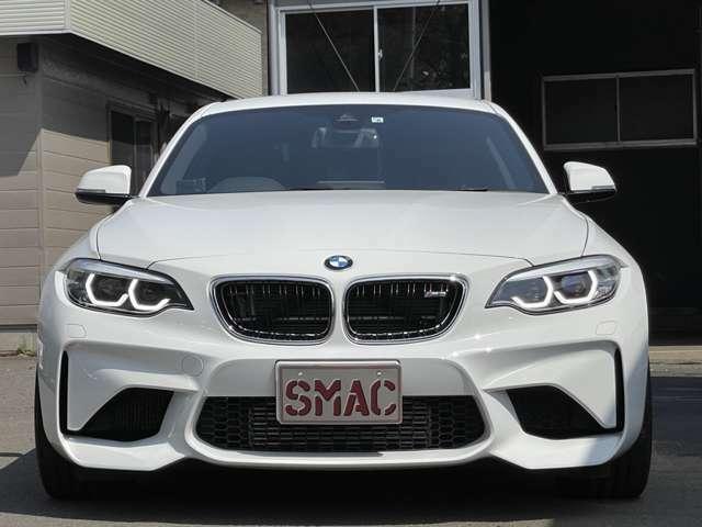 メーカー:BMW 車種:M2 グレード:ベースグレード 走行距離:4,500km 色:アルピンホワイトIII