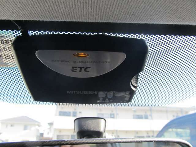ETCも装着していますので、高速もラクラク!