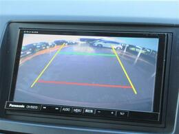 バックカメラがあれば駐車が苦手な方も安心です!