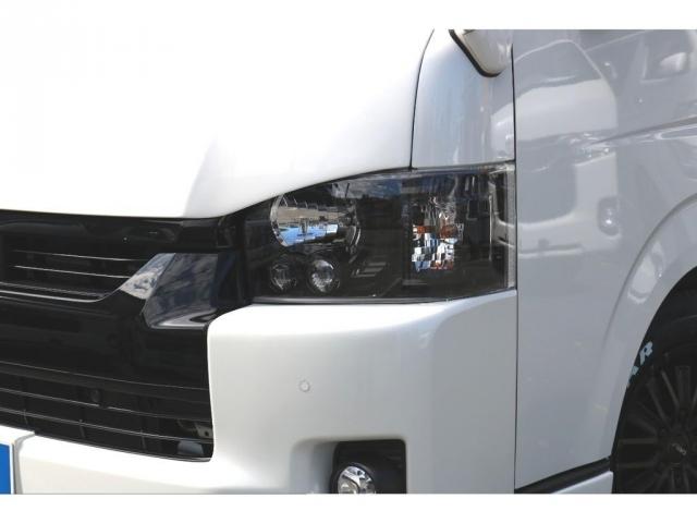 LEDヘッドライトインナーブラック施工