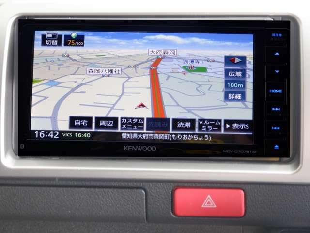 SD地デジナビ/Bカメラ/レザー調シートカバー/電動格納ミラー/イージークローザー/Wエアコン/チップアップシート/Bluetooth/DVD再生可/キーレスエントリー/メッキグリル
