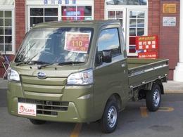 スバル サンバートラック 660 TB スマートアシスト 三方開 4WD 届出済未使用車