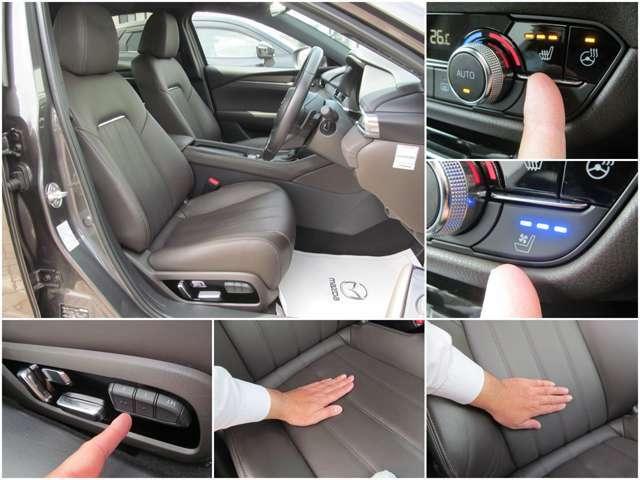 運転席、助手席に3段階調節機能付きシートヒーター、ベンチレーション搭載!