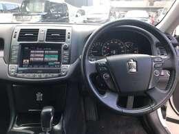 高級感漂う内装デザインで快適なドライブを!
