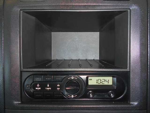 ☆純正AM FM付きオーディオ装着されています。