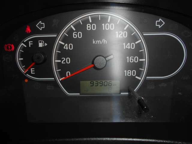 走行距離は9万3千Kmです。
