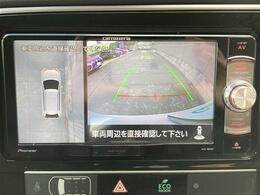 【マルチアラウンドモニター】上から見下ろしたように駐車が可能です。安心して縦列駐車も可能です。