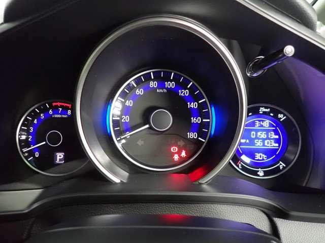◆3眼メーター◆ メーターは、明るくてみやすい3限メーターです。