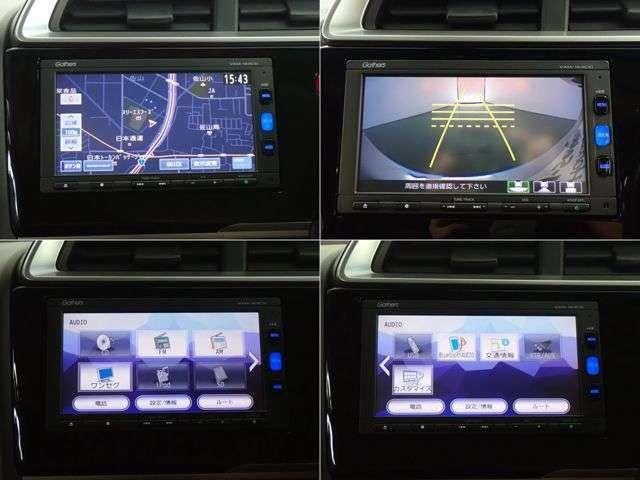 ◆ホンダ純正メモリーナビ◆知らない所もナビゲーションがご案内!楽しい旅行をサポートします。音楽CD、Bluetoothオーディオ再生、FM/AM、TVが付いてます。