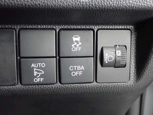 ★VSA(横滑り防止装置)★ 急ハンドルなどで車がすべりそうな時、4輪別々にブレーキをかけ、さらにパワー制御をして車の姿勢をととのえます。 さらに雪道でも発進力が強いのです!