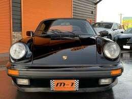 昭和63年式(1988y)ポルシェ911カブリオレ!正規ディーラー車!左ハンドル!88yG50ミッション!稀少ディーラー車カブリオレ!