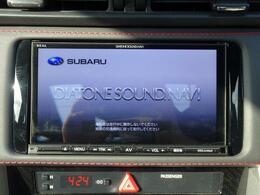 純正メモリーナビ。フルセグ視聴CD再生はもちろんDVDの視聴も可能です。更にBluetooth機能付きで携帯電話に触れずに通話可能!!快適に運転をして頂けます。