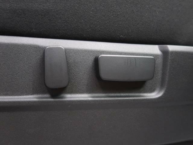 【パワーシート】自分の最適なシートポジションを設定し、ボタン一つで移動します♪