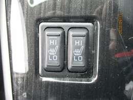 シートヒーター装備!エアコンに比べて暖まるスピードが速いので冬でも快適に過ごせます。冷え症で悩まれている方にも◎また、エアコンに比べて車内の空気が乾燥しにくいのも、嬉しいポイントです!