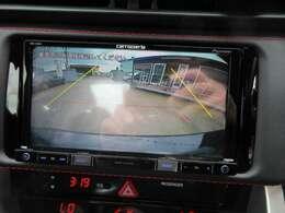 社外カロッツェリアメモリーナビ付き♪ バックカメラで駐車も安心ですね♪ 広角のカメラを使用しております♪