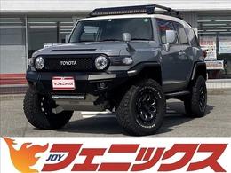 トヨタ FJクルーザー 4.0 オフロードパッケージ 4WD リフトアップ ナビTV バックカメラ
