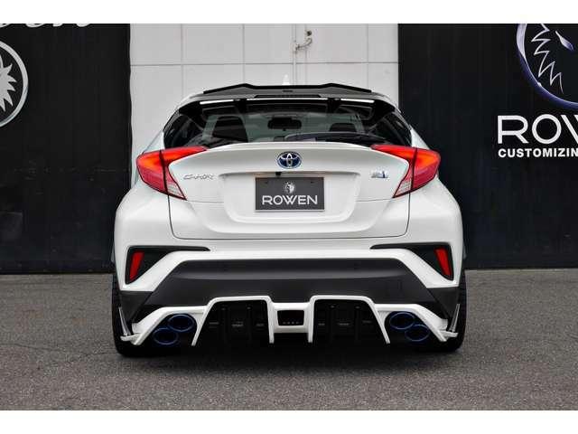 私たち『PLATINUM ROAD』はROWEN製品を装着した新車コンプリートを中心に販売致します。またお客様のご予算に応じて、上質な中古車をベースとしたコンプリート製作もお気軽にご相談くださいませ。