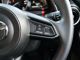 【 クルーズコントロール 】アクセルペダルを踏まずとも設定した速度を維持してくれるのでドライバーの負担軽減に繋がりますね!