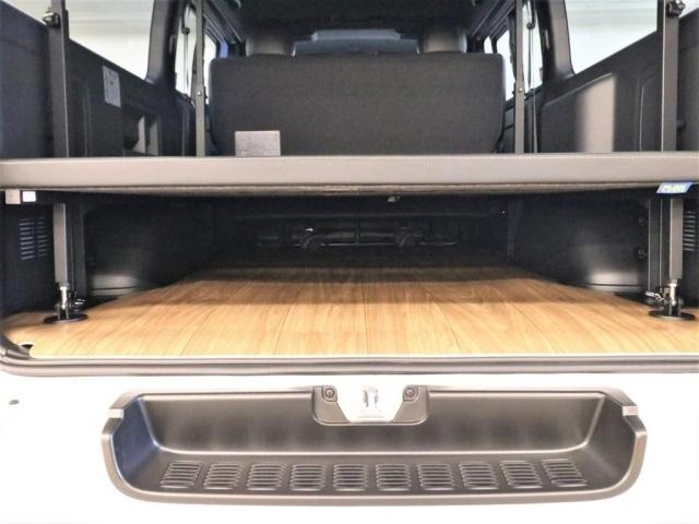 ベッドマットの下は収納スペースとしてもご利用できます!