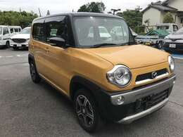 黄色いボデーにブラックのルーフ!カッコ良くてお洒落なフレアクロスオーバーです★ターボ車でパワーもあります。