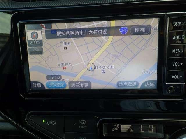 ワンセグSDナビ AUX Bluetooth SD再生