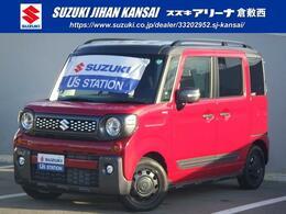 スズキ スペーシア 660 ギア ハイブリッド XZターボ LED オートライト クルコン 運助席ヒーター