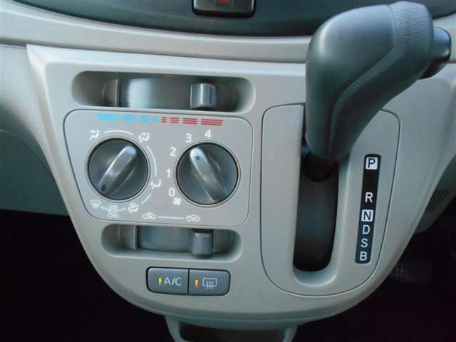 エアコン装備で快適ドライブ!