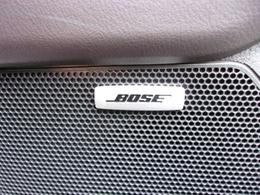 メーカーオプションの心地よい音を奏でるBOSEサウンド!