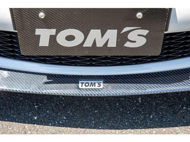TOM'S フロントスポイラー(カーボン製)