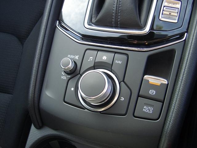 手元を見ることなく操作できるようにシンプルかつ多彩な機能を併せ持つコマンダーコントロール!ボタンの配置を覚えれば使いやすさも実感できます!