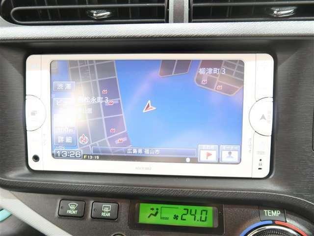 NSCP-W62ワンセグチューナー付きメモリーナビで初めての場所や道も安心です。