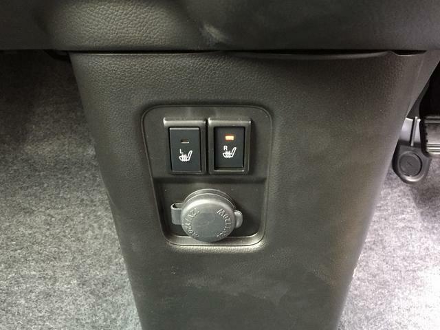 寒いときに便利なシートヒーターは、左右座席に付いてます