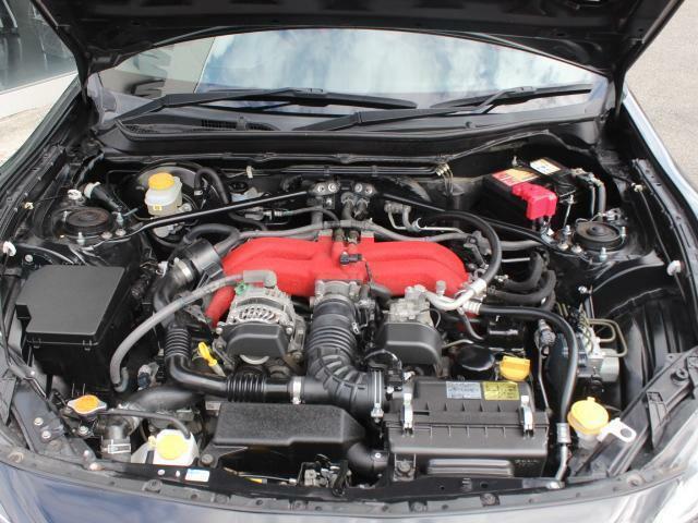 水平対向4気筒FA20エンジン!高出力、大トルクを幅広い回転域で味わえます!