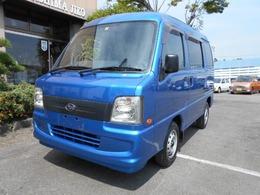 スバル サンバー 660 トランスポーター キーレスブルー全塗装