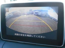バックカメラを装備しています。リバースに入れればモニターに映像が映し出されます。