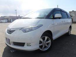 トヨタ エスティマハイブリッド 2.4 G 4WD 純正HDDナビ ETC スマートキー 車検整備付