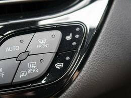 『ボタン一つで座面を暖めてくれるシートヒーター☆長時間の運転も腰の疲れを軽減してくれます♪冬場にも嬉しい装備ですね!』