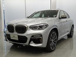 BMW X4 M40i 4WD ブラックレッドステッチヴァーネスカレザー