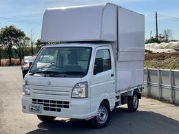 スズキ キャリイ 660 KCエアコン・パワステ 3方開 キッチンカー 移動販売車 2層シンク 換気扇