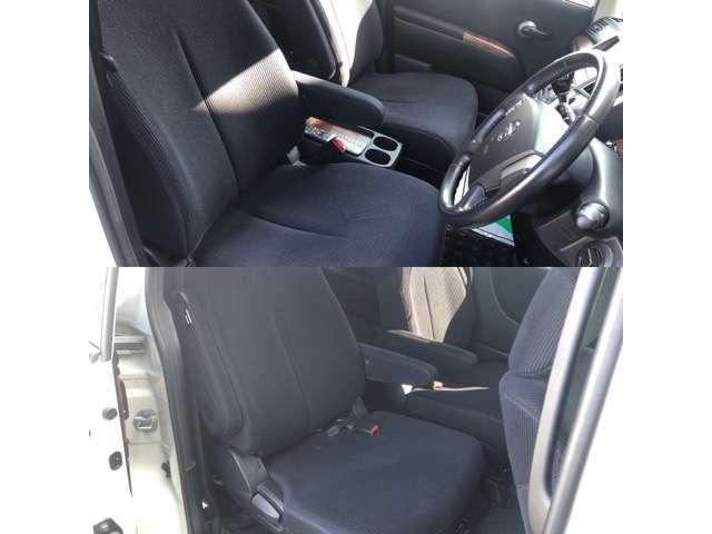綺麗なシートは座り心地も良く、生地も上質です!