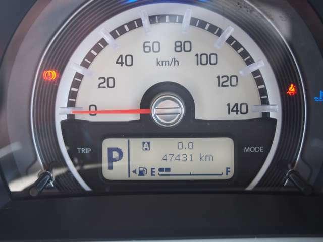 走行距離47400kmとまだまだ安心してお乗りいただけます♪