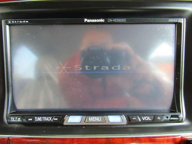 PanasonicHDDナビ地デジ付で快適ドライブOK