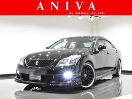トヨタ クラウンアスリート 2.5 ナビパッケージ 新品車高調 新品20AW 新品エアロ 黒内装