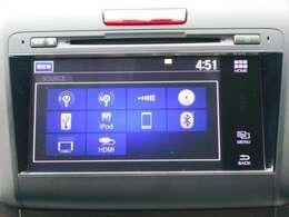 純正ナビです。DVD/CD再生のほかにもフルセグTV、USB接続、Bluetooth連携機能も装備されとっても便利です!