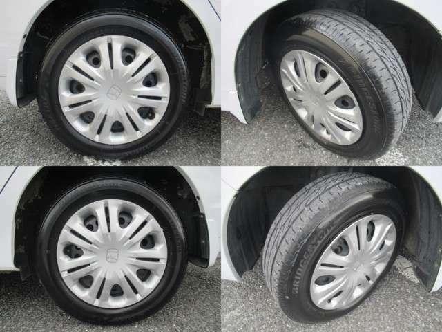タイヤ溝残量もまだまだ御座います♪まずはお気軽にお問い合わせ下さい♪TEL043-420-8686まで♪展示台数100台!欲しい車がきっと見つかる♪親切丁寧なスタッフが心よりお待ちしております♪