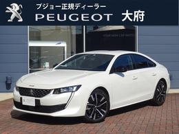 プジョー 508 GT ブルーHDi ディーゼルターボ 元試乗車 新車保障継承 ナビ ETC2.0