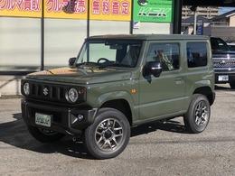 スズキ ジムニー 660 XC 4WD 届出済未使用車 衝突被害軽減システム