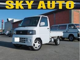日産 クリッパートラック 660 DXエアコン付 4WD パワステ エアコン 5速MT 切替4WD